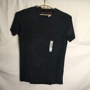 SUPERDRY Black Crew Neck Short Sleeve Size 2XL F27